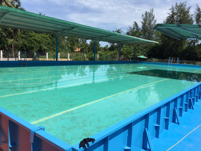 Việc đưa môn bơi vào trường học gặp khó vì thiếu kinh phí xây dựng và duy trì hoạt động các hồ bơi đạt chuẩn
