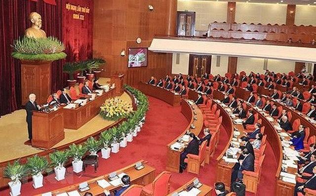 Hội nghị TƯ 8 dự kiến diễn ra từ 2-6/10/2018