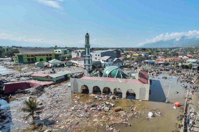Một góc thành phố Palu (Ảnh: Reuters)