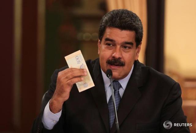 Hệ thống phân cấp lương của Venezuela đã bị bóp méo sau khi ông Maduro tăng mức lương tối thiểu. (Nguồn: Reuters)