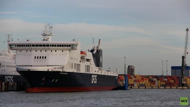 Phà Regina Seaways (Ảnh: RT)