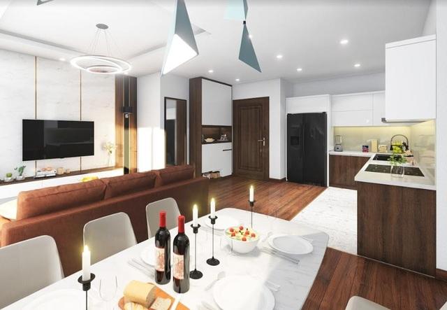 Các căn hộ Hatay Millennium được thiết kế ấn tượng, tràn ngập ánh sáng