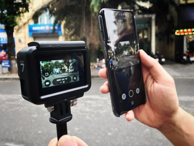 Người dùng có thể sử dụng GoPro HERO7 Black để live-stream hoặc chia sẻ lên mạng xã hội một cách tương đối dễ dàng.