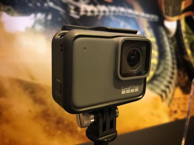GoPro giới thiệu dòng camera hành trình đời mới nhất của hãng mang tên HERO7 Black.