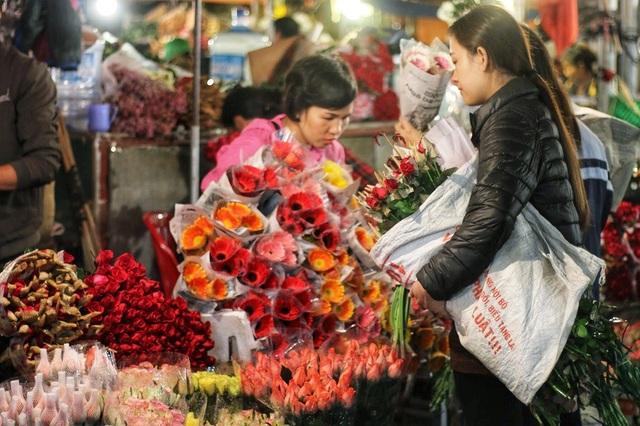 Đối tượng khách hàng phục vụ chủ yếu là các tiểu thương. Nên giá hoa thưởng rẻ hơn hẳn so với mặt bàn chung của thị trường. Tuy nhiên những ngày giáp lễ 20/10 giá hoa có tăng nhẹ so khoảng 10.000 đến 40.000đ so với ngày thường bởi sức mua lớn một số loại hoa còn hiếm hàng.