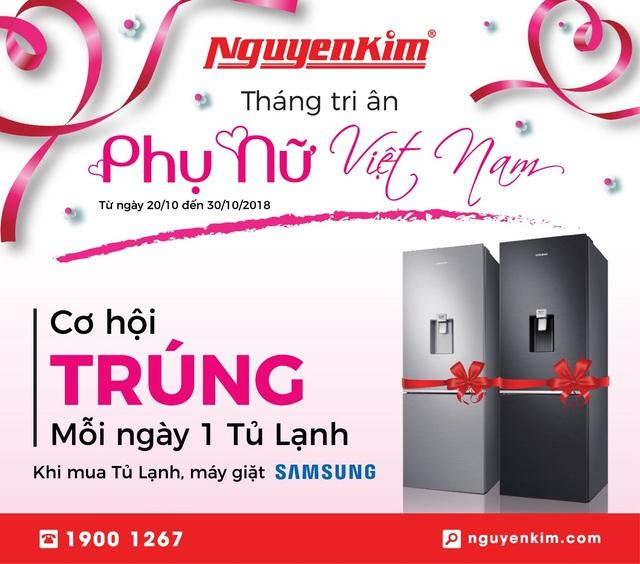 """Ưu đãi mua sắm dành riêng cho """"phái đẹp"""" tại Nguyễn Kim - 2"""
