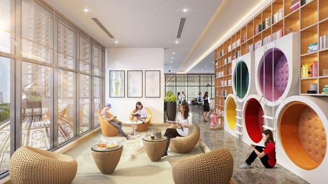 Phòng đọc sách miễn phí cho những cư dân nhí