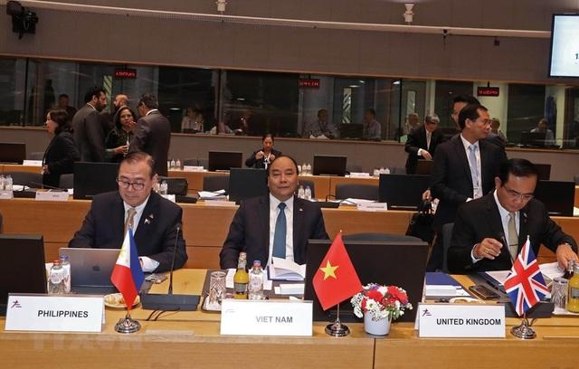 Thủ tướng Nguyễn Xuân Phúc vừa có chuyến thăm và làm việc tại châu Âu 6 ngày (ảnh: TTXVN)