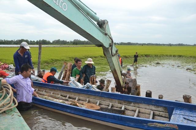 Theo Tổng cục Thủy lợi, tính đến thời điểm hiện tại, nước lũ đã gây thiệt hại trên 2.000ha lúa