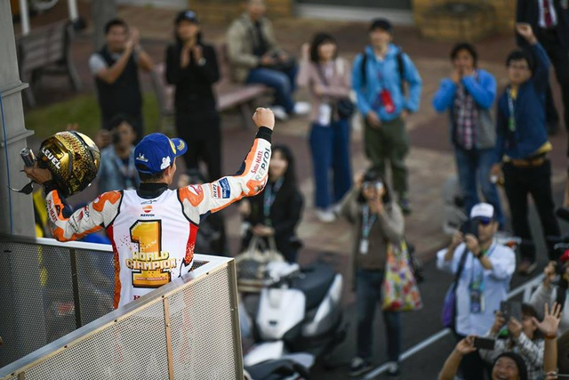Chiến thắng tại Motegi, Marquez đăng quang ngôi vô địch thế giới MotoGP - 5