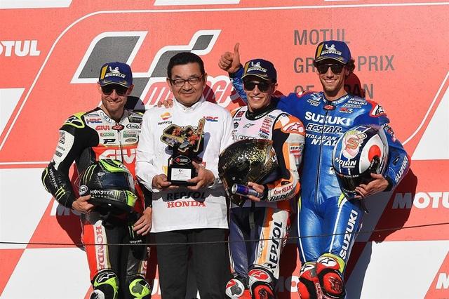 Chiến thắng tại Motegi, Marquez đăng quang ngôi vô địch thế giới MotoGP - 4