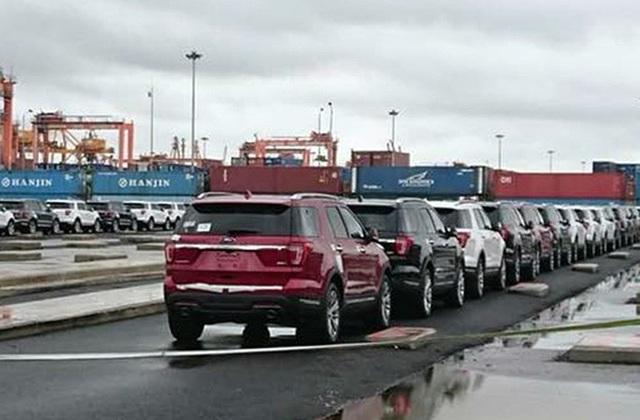 Các dòng xe từ Mỹ tăng đột biến trong tuần vừa qua.