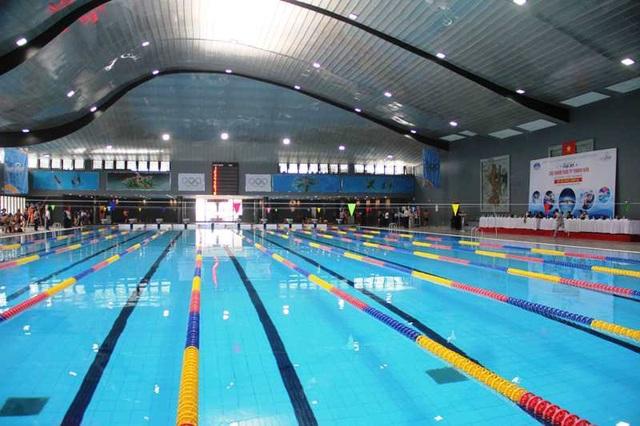Các vận động viên có cơ hội được khám phá, trải nghiệm, thi đấu tại bể bơi hiện đại bậc nhất Việt Nam.