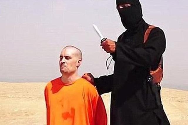 Hình ảnh nhà báo Mỹ James Foley bị Tổ chức Hồi giáo cực đoan IS hành hình