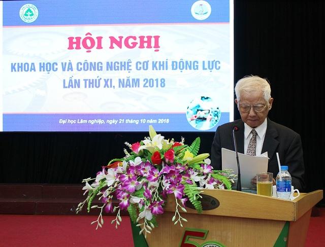 GS.TSKH Phạm Văn Lang - Chủ tịch Câu lạc bộ cơ khí động lực, Trưởng Ban tổ chức