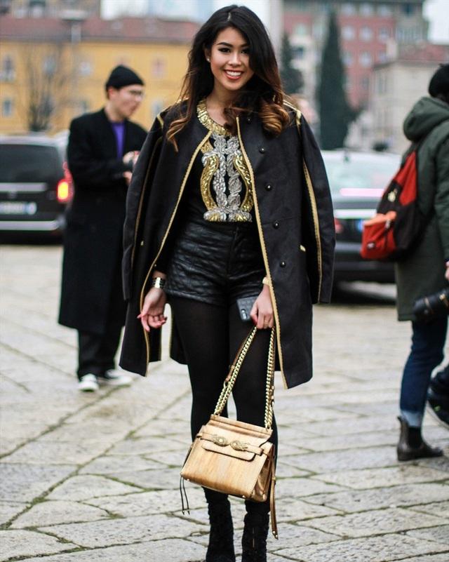 Thảo Tiên có gu thời trang khá phong cách và đẳng cấp.