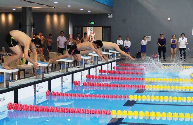 Các vận động viên tranh tài tại các nội dung của giải.