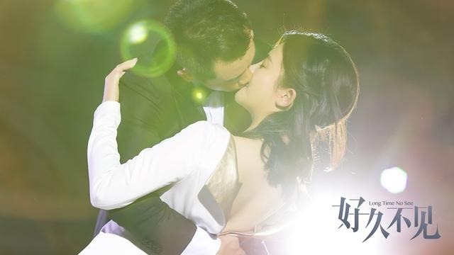 Cảnh phim lãng mạn của Đã lâu không gặp.
