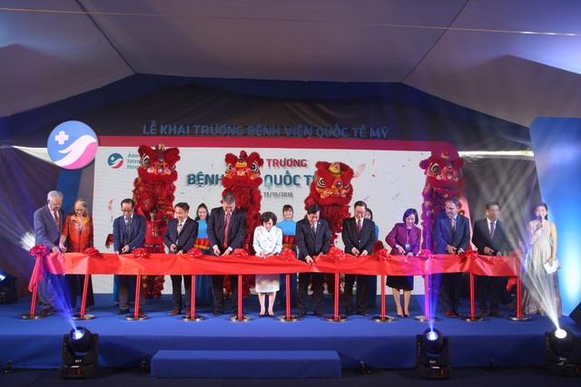 Khai trương Bệnh viện Quốc tế Mỹ (AIH) - Bệnh viện quốc tế đầu tiên tại Việt Nam theo tiêu chuẩn Mỹ - 2