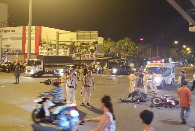 Nữ tài xế lái xe BMW gây tai nạn có nồng độ cồn rất cao - 1