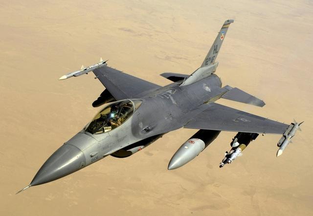 Máy bay chiến đấu F-16 (Ảnh: Quân đội Mỹ)