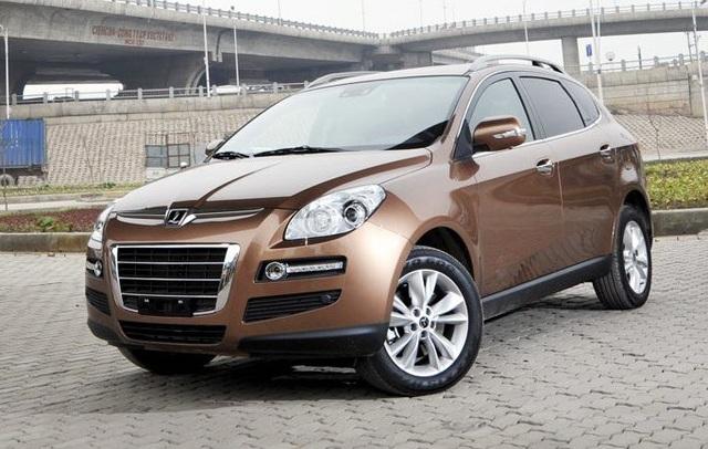 Chiếc Luxgen SUV 7 chỗ (U7) đời 2012 đã từng được nhập vào VN
