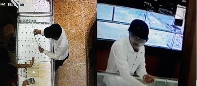 Hình ảnh đối tượng cướp giật bị camera ghi lại
