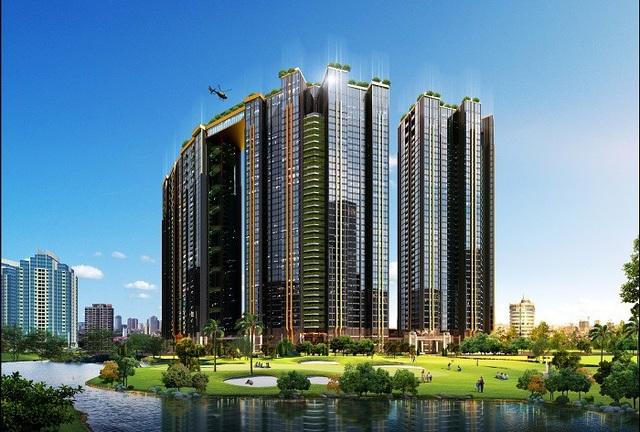 """Sunshine City Hà Nội – dự án đoạt giải """"Nhà ở hạng sang tốt nhất Việt Nam 2018"""" là tổng hoà hoàn hảo của tất cả các yếu tố cấu thành nên 1 dự án BĐS cao cấp, ây ấn tượng mạnh bởi lối thiết kế đậm chất Âu Mỹ khoẻ khoắn, toàn bộ mặt ngoài phủ kính Low – E sang trọng."""