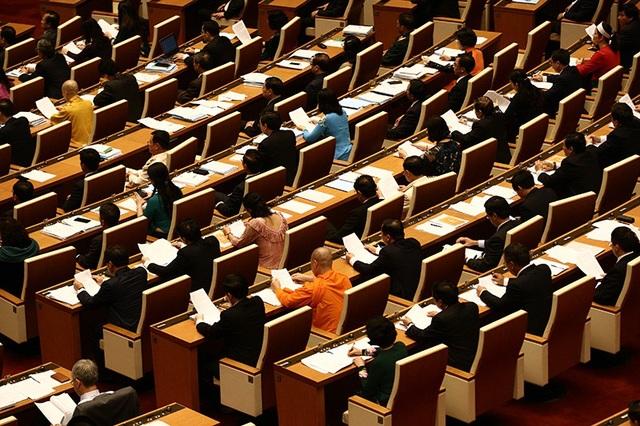 Kỳ họp thứ 6 Quốc hội khoá XIV khai mạc ngày 22/10, dự kiến kéo dài đến 21/11 (Ảnh: Việt Hưng)
