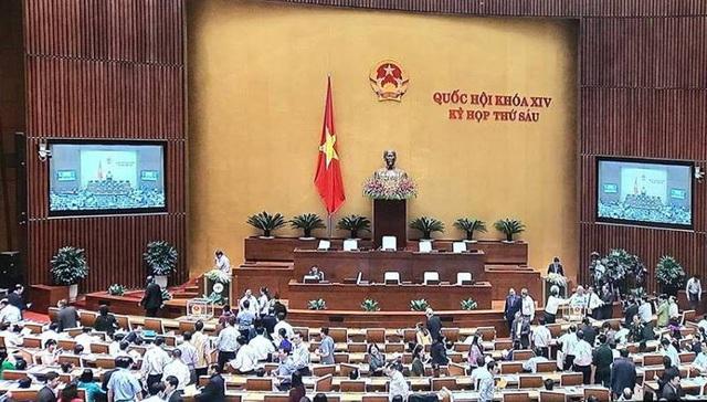 Quốc hội bỏ phiếu quyết định việc Tổng Bí thư đồng thời là Chủ tịch nước - Ảnh 3.
