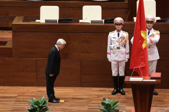Tổng Bí thư Nguyễn Phú Trọng đắc cử Chủ tịch nước - Ảnh 3.