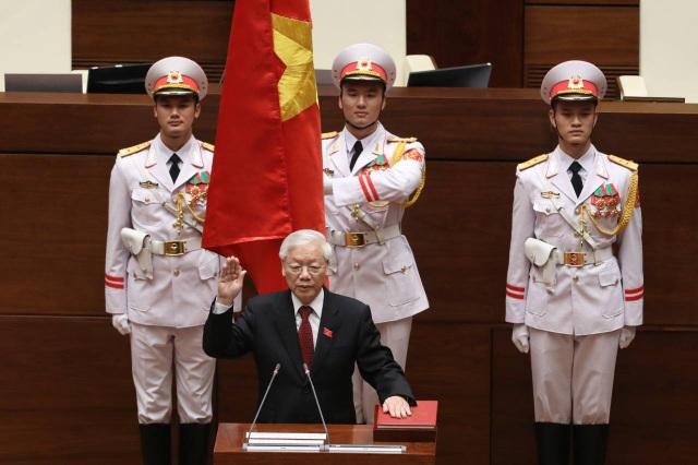 Tổng Bí thư Nguyễn Phú Trọng đắc cử Chủ tịch nước - Ảnh 4.