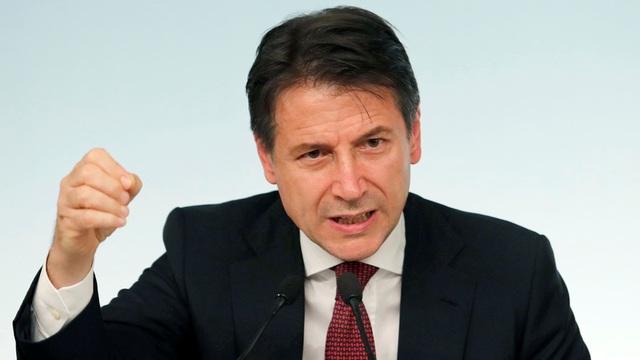 Thủ tướng Italy Giuseppe Conte (Ảnh: Reuters)