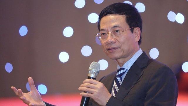 Ông Nguyễn Mạnh Hùng được giao quyền Bộ trưởng Thông tin - Truyền thông từ cuối tháng 7 vừa qua.
