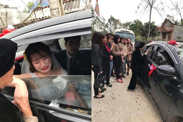 Rơi nước mắt với khoảnh khắc cô dâu bịn rịn chia tay người thân trong đám cưới - 2