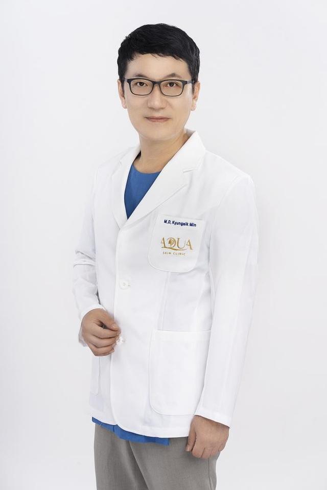 Bác sĩ Min Kyung Sik - chuyên gia hàng đầu về da của Aqua Clinic - 2