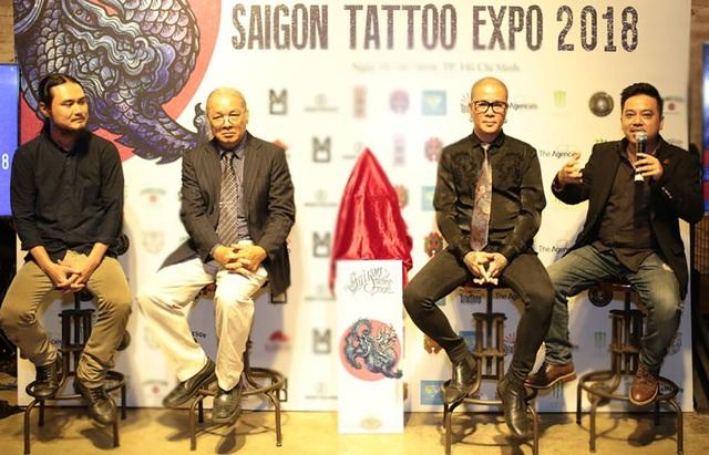 Ban tổ chức đã hé lộ những cái tên nổi danh trong giới xăm hình chuyên nghiệp sẽ xuất hiện trong 02 diễn ra sự kiện đến từ các nước trên thế giới như: S.E.O.K, Jiwon (Hàn Quốc), Sammy Caguioa, Rick Sta Ana (Philippines), Edmund Seah (Singapore), Onny Somboon (Netherlands)…