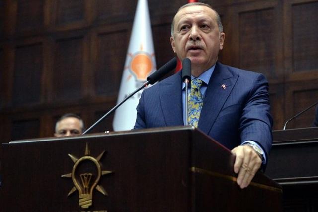 Tổng thống Thổ Nhĩ Kỳ Recep Tayyip Erdogan (Ảnh: EPA)