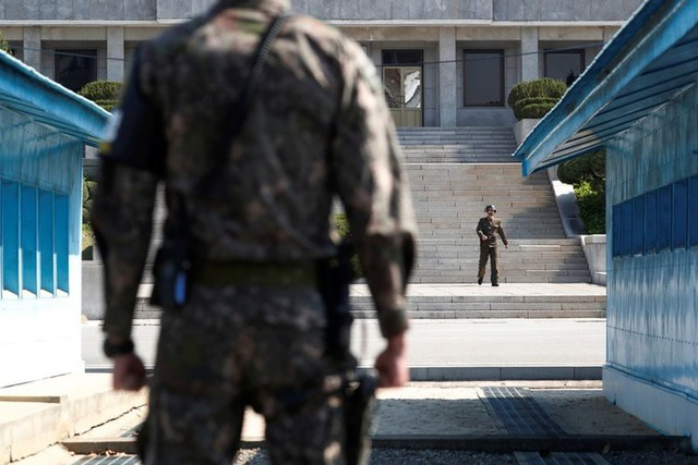 Khu vực biên giới liên Triều (Ảnh: Reuters)
