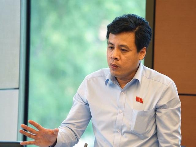 Đại biểu Trần Anh Tuấn (đoàn TPHCM).