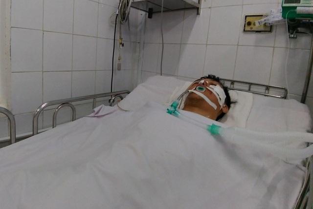 Sau 1 tuần điều trị, nạn nhân bị hôn mê sâu đã qua được giai đoạn nguy kịch