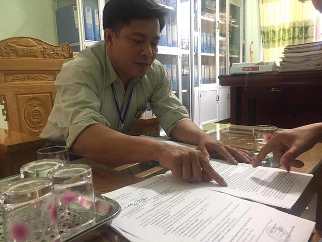 Ông Nguyễn Đức Lợi, Phó Phòng Nội vụ huyện Tuyên Hóa.