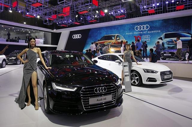 Diện kiến tân binh Q8 tại gian hàng của Audi tại Triển lãm Ôtô Việt Nam 2018 - 13