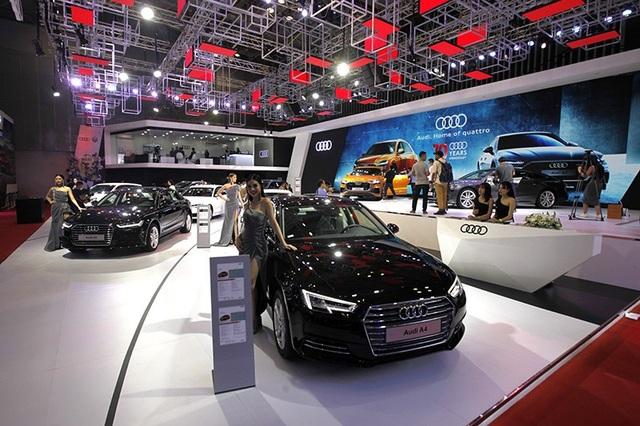 Diện kiến tân binh Q8 tại gian hàng của Audi tại Triển lãm Ôtô Việt Nam 2018 - 14