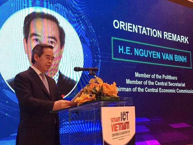 Đồng chí Nguyễn Văn Bình, Ủy viên Bộ Chính trị, Bí thư Trung ương Đảng, Trưởng Ban Kinh tế Trung ương. Ảnh: Đại Việt