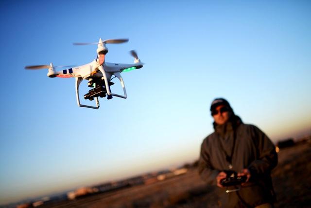 Một thiết bị bay không người lái (Ảnh: Wired)