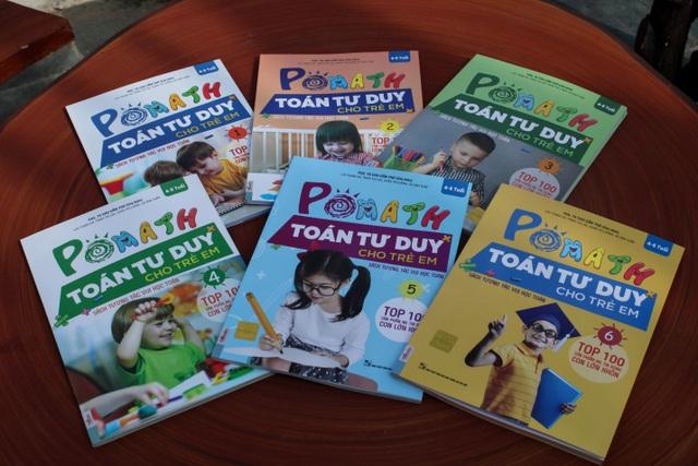 Pomath - Toán tư duy cho trẻ em chính là bộ sách sẽ giúp mẹ và bé học toán trở nên dễ dàng hơn rất nhiều.
