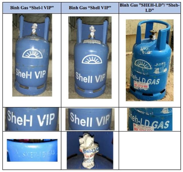Dấu hiệu xâm phạm quyền đối với nhãn hiệu Shell và an toàn sản phẩm - 2