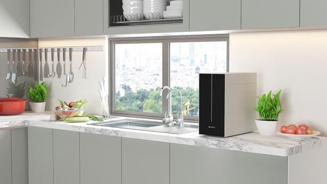 K- Series có cấu hình mạnh mẽ, thiết kế sang trọng, mang đến nguồn nước tinh khiết an toàn cho người dùng