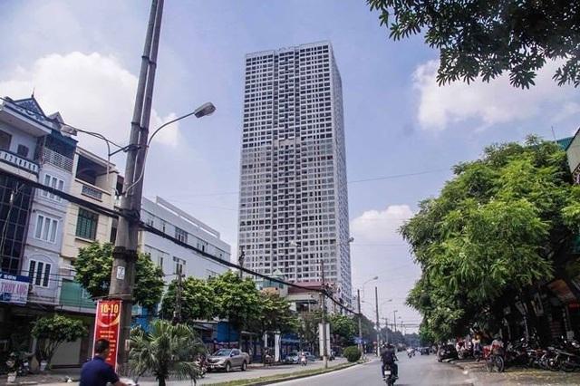 Toà nhà cao thứ ba Hà Nội bị siết nợ